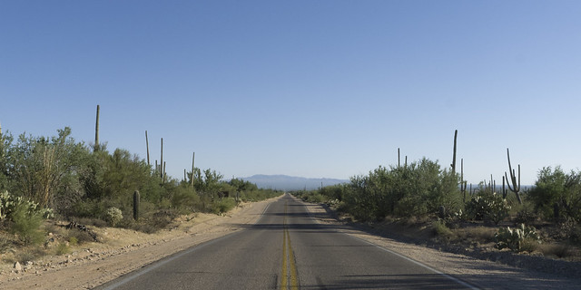Tucson Mountain Park, N Sandario Rd