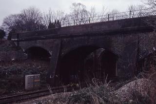 S&D 1991~035 Bath GWR Viaduct Bridge No 3 5.3.1991
