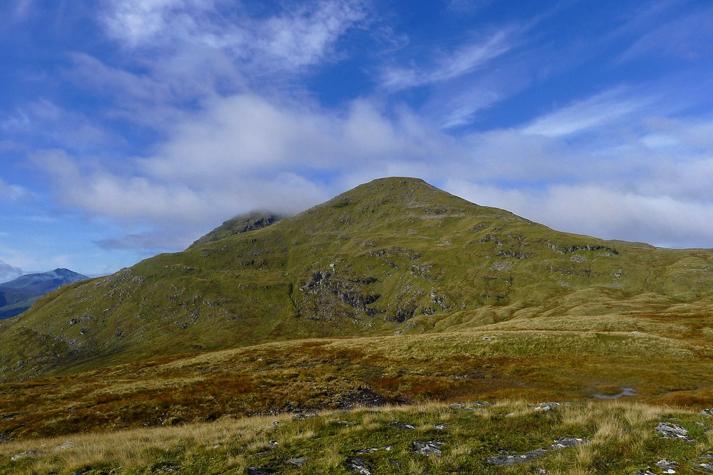 Skies clearing above Beinn Dorain