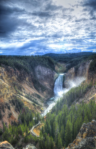 Canyon Junction, Yellowstone National Park, Wyoming