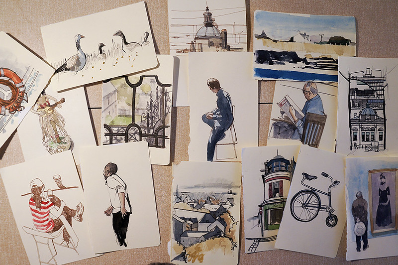 A selection of drawings