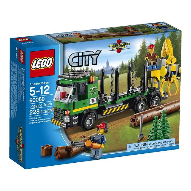 LEGO City 60059 - Logging Truck