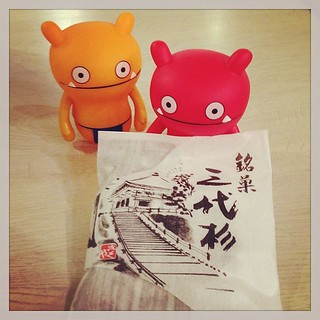 #uglydoll  Japanese sweet made in Iwate prefecture