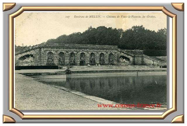 Château de Vaux-le-Vicomte, les Grottes