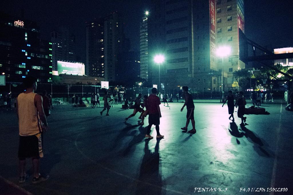夜戰籃球場@K-5