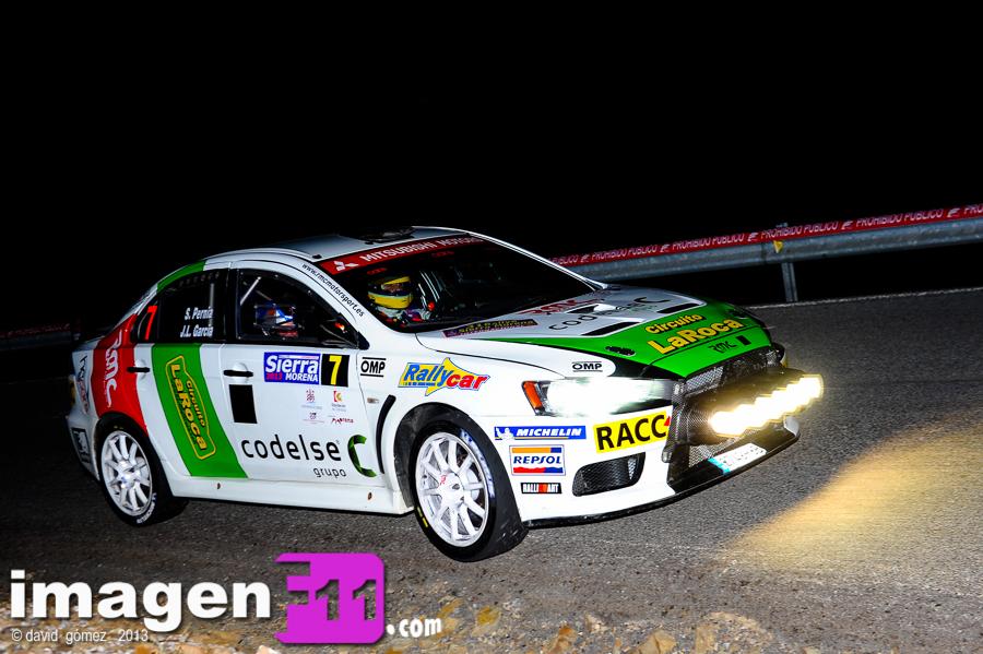Surhayen Pernia, Mitsubishi Lancer EVO X, RMC, Rallye Sierra Morena 2013