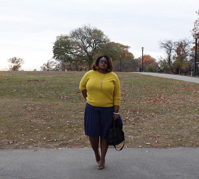 mustard+sweater