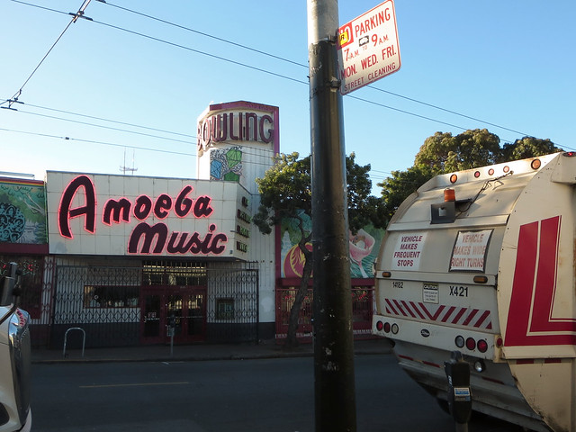 Amoeba Music on Haight St, San Francisco (2013)