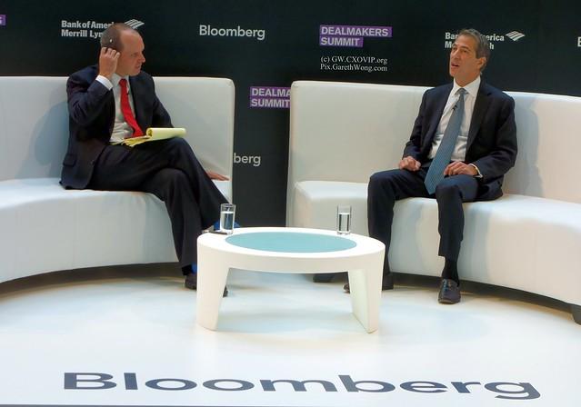 MARC LEDER CO-CEO SUN CAPITAL 1on1 interviewed by Jason Kelly Bloomberg @jasonkellynews from RAW _DSC1263