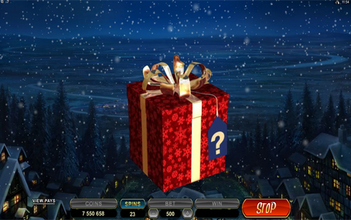 Secret Santa Mystery Bonus Game