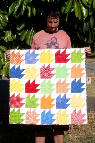 Paddington's Paws quilt