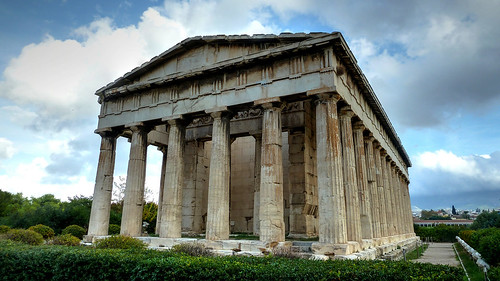 Temple of Hephaestus West, Ancient Agora, Athens, Greece