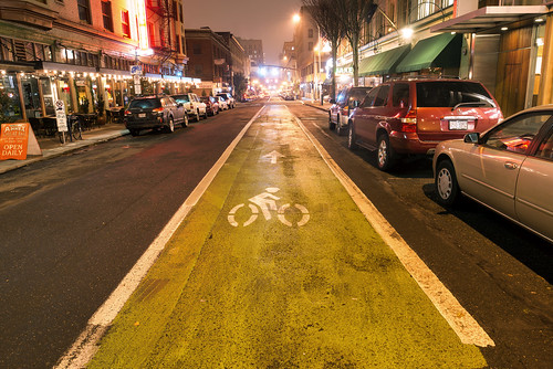 Bike Lane by Curtis Gregory Perry