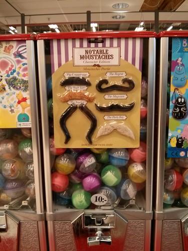 moustache vending machine