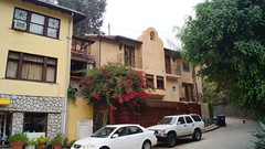 House of Jim Morrison (The Doors) in Laurel Canyon, West Hollywood