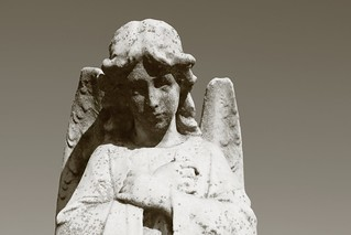 Angel of Saint Thomas cemetery, Southington CT