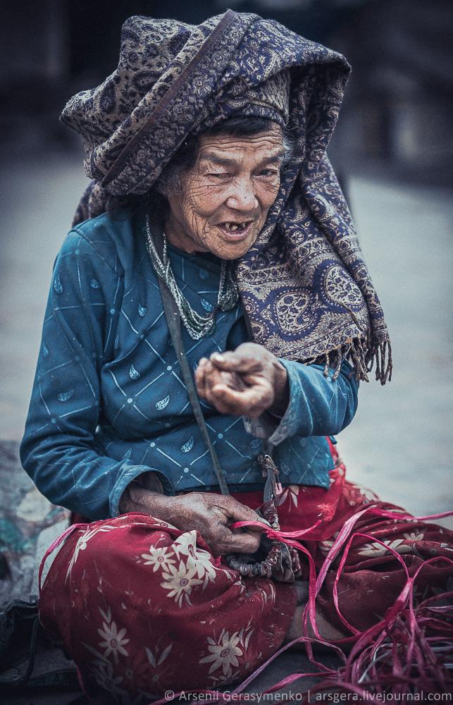 Market woman from Kathmandu