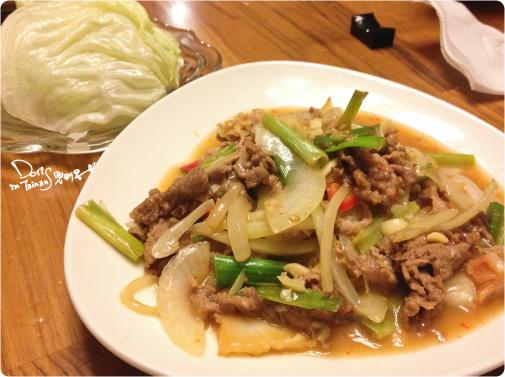 此木犬食堂-泡菜牛肉+生菜
