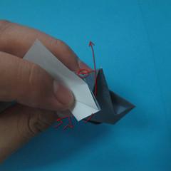 วิธีการพับกระดาษเป็นรูปนกเค้าแมว 022