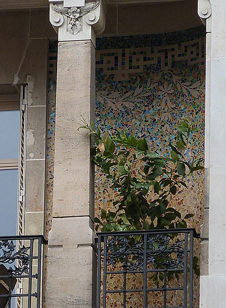 détail terrasse