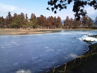 毛越寺・大泉ヶ池