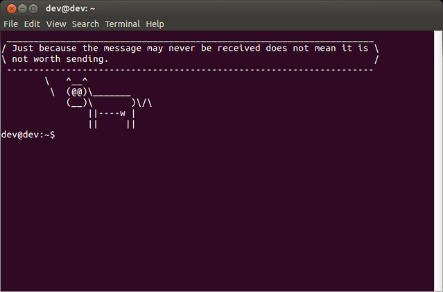 How to display or change a welcome message in Linux terminal
