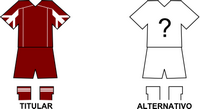 Uniforme Selección Piribebuy de Fútbol