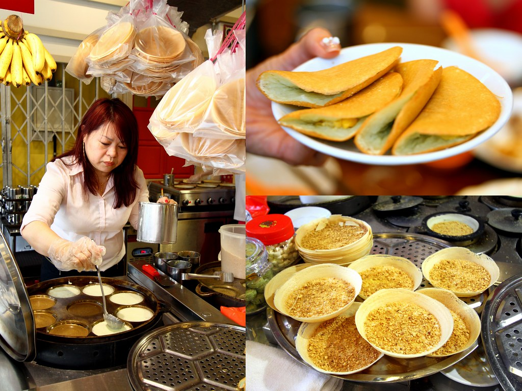 Malaysia Boleh's soft and fluffy apom manis & steamed pandanus-laced pancakes