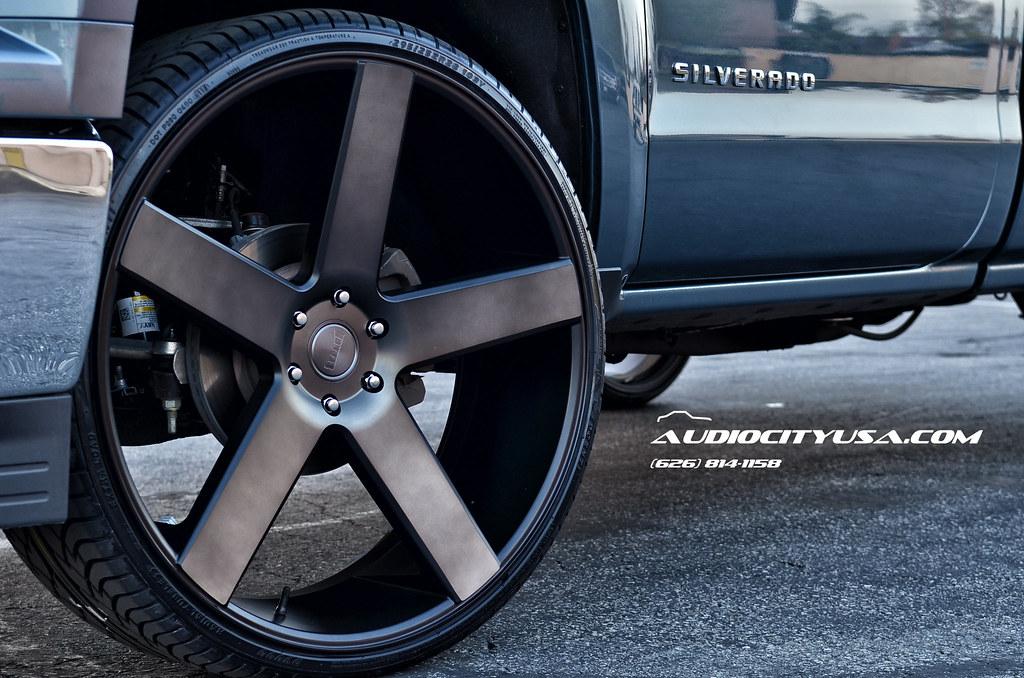 2014 Chevy Silverado Single Cab 28 Quot On Dub Baller Matte