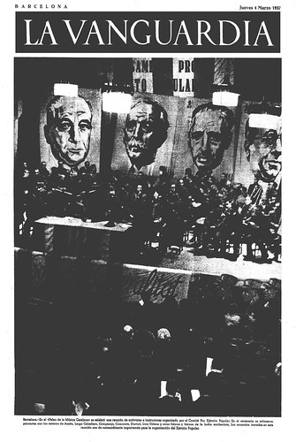 La Vanguardia, 4 de marzo de 1937. Fotografía: Agustí Centelles i Ossó. by Octavi Centelles