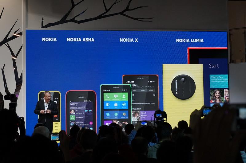 Nokia, Nokia Asha, Nokia X and Nokia Lumia