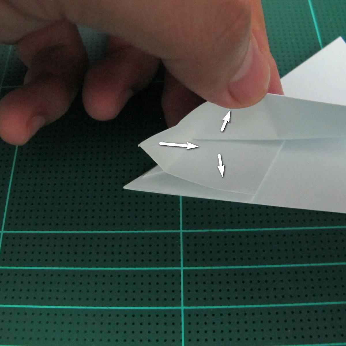 การพับกระดาษเป็นรูปตัวเม่นแคระ (Origami Hedgehog) 028