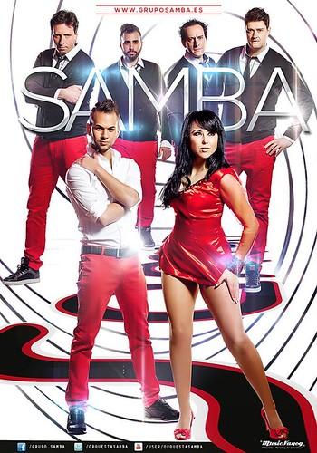 Grupo Samba 2014 - cartel