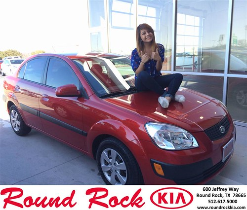 Thank you to Crystal Tapia on your new 2009 #Kia #Rio from Ruth Largaespada and everyone at Round Rock Kia! #NewCar by RoundRockKia