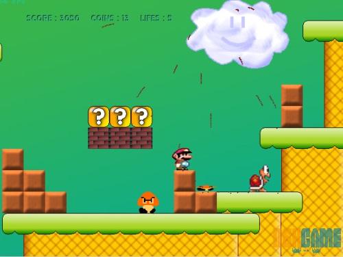 Mega Mario entorno