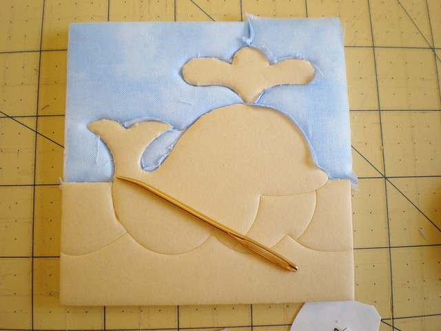 Whale Patchwork in Progress