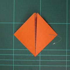 วิธีพับกระดาษเป็นสุนัขจิ้งจิกแบบง่าย (Simple Origami Fox) 003