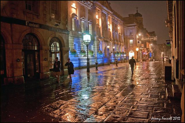 A Rainy Night in Corn Street