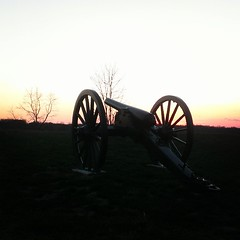 #civilwar #sunset  #Williamsport #silentguns
