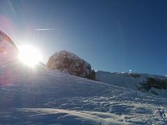 Aufstieg Skitour Kleine Gaisl