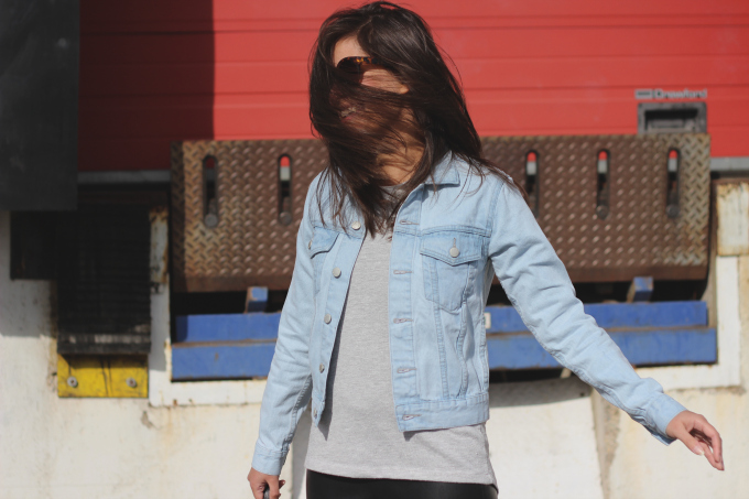 How to wear denim jacket, Cheap Monday, outfit