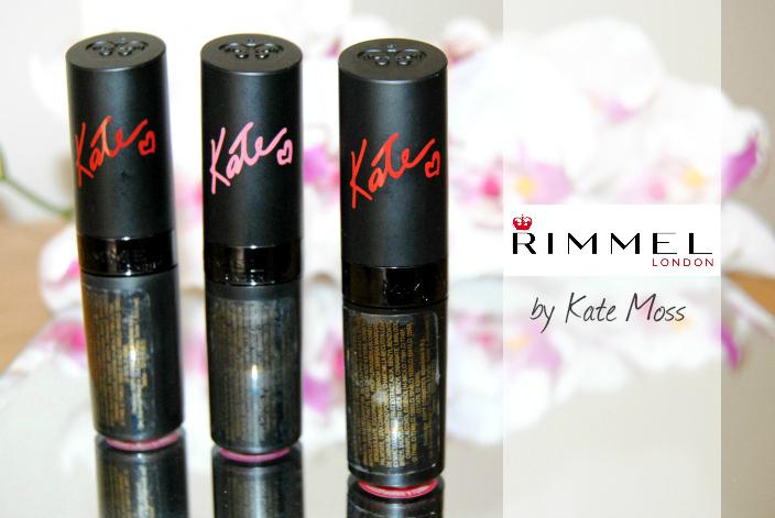 Kate Moss Rimmel Lipsticks capa