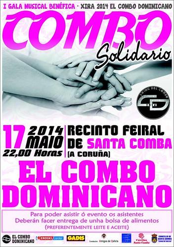 El Combo Dominicano 2014 - I Gala Solidaria - cartel