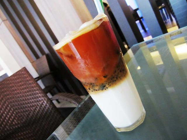 Lotus Cafe, Miri - teh see cincao