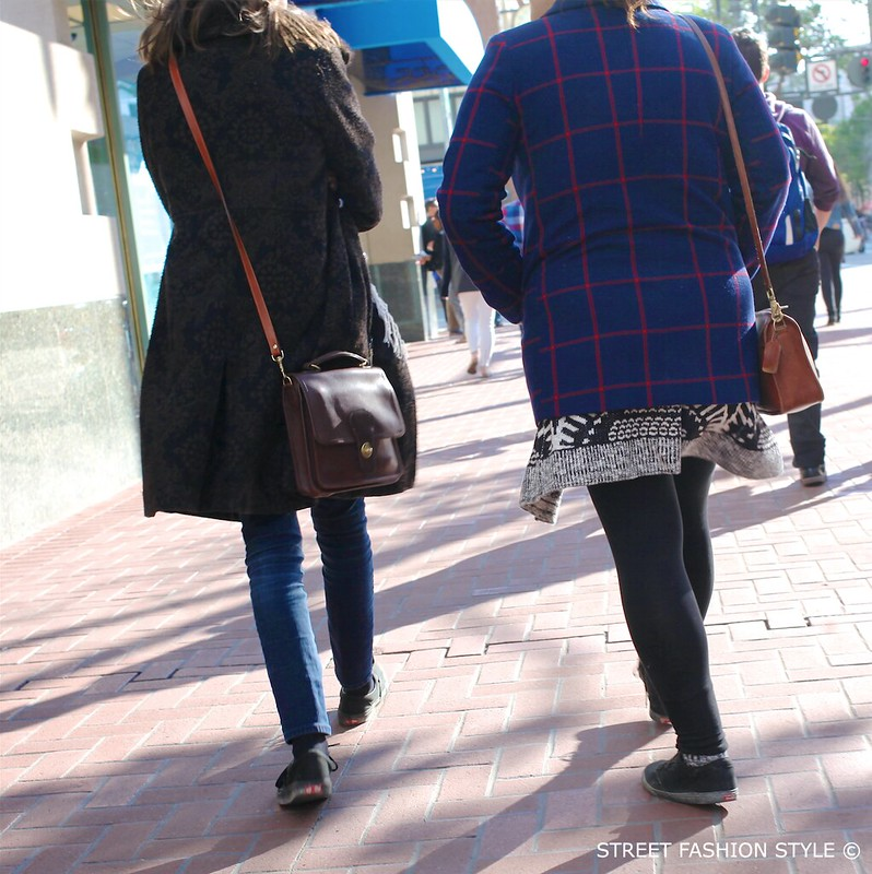 patterned coats, vintage satchel bags, STREETFASHIONSTYLE, street fashion style, san francisco street style fashion blog,