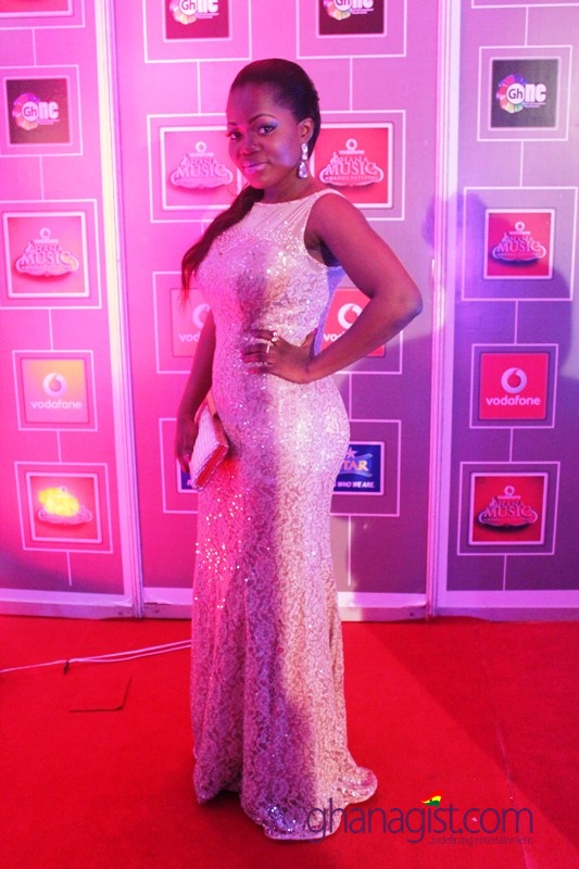 Mzbel at 2014 Ghana Music Awards