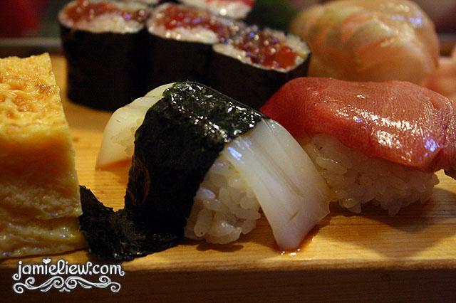sushi daiwa ika squid