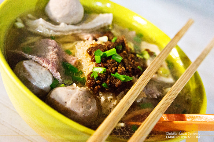 Beef Noodles in Chinatown Kuala Lumpur