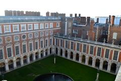 Hampton Court Palace Fountain Court
