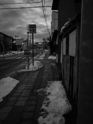 After snow. Miharu.